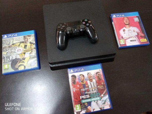 PS4 1TB Slim Semi-nova