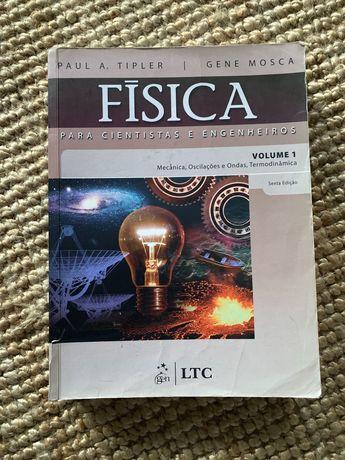 Livro Física, volume 1 (Paul A. Tipler e Gene Mosca)