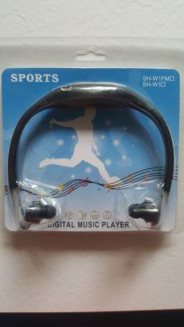 Zestaw słuchawkowy do biegania Mp3