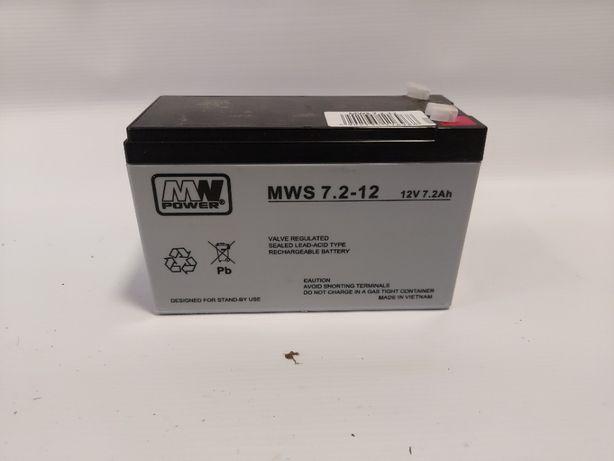 Akumulator MWS 7,2-12 AGM 12v 7,2Ah
