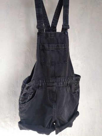 джинсовый черный комбинезон next