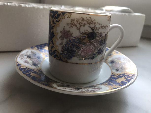 Кофейный сервиз HI-LUXE Best Porcelain Original 24CT Cold Japan Design