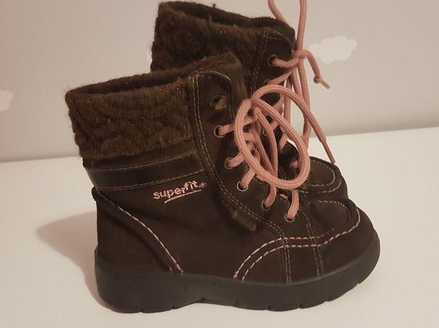 Buty trzewik zimowe dziewczynki superfit 25