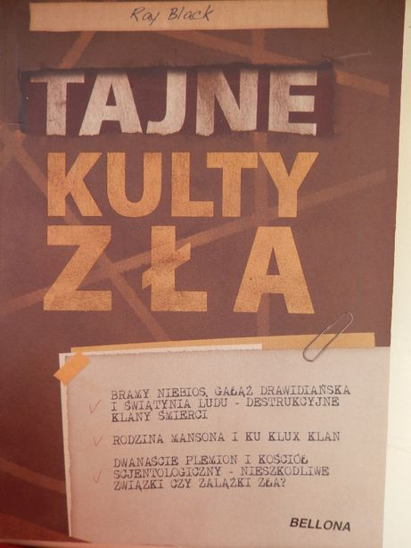 Tajne kulty zła R. Black
