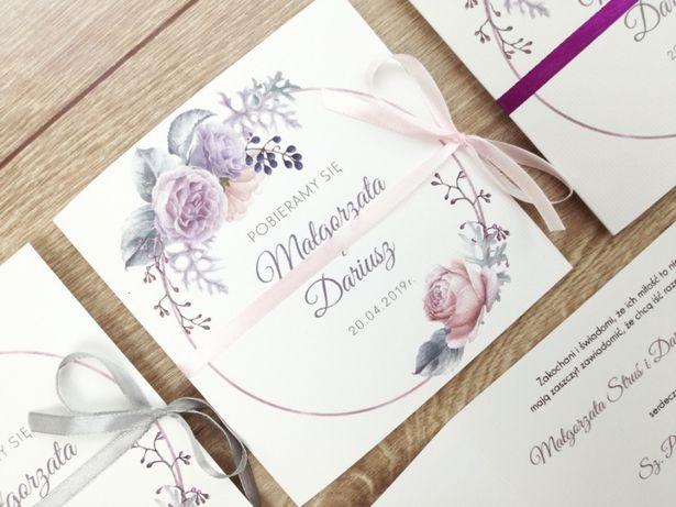 Zaproszenia ślubne w stylu boho