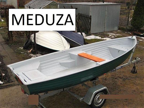Łódka Wędkarska 420 Meduza otwarta lub kabinowa Transport cała Polska