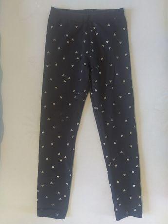 Spodnie dziewczęce h&m 128-134
