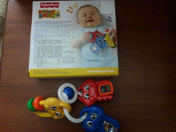 """Развивающая игрушка """"Музыкальные ключики от Фишер Прайс"""""""