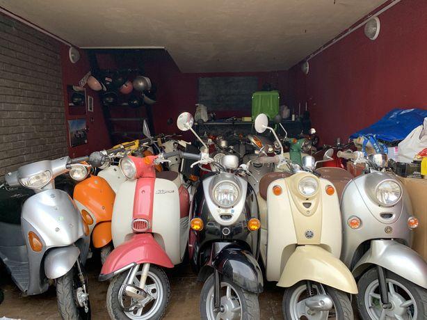 Мопед из Японии! Honda Dio 34/62/68/Giorno/Yamaha Jog/Gear/Vino/Suzuki