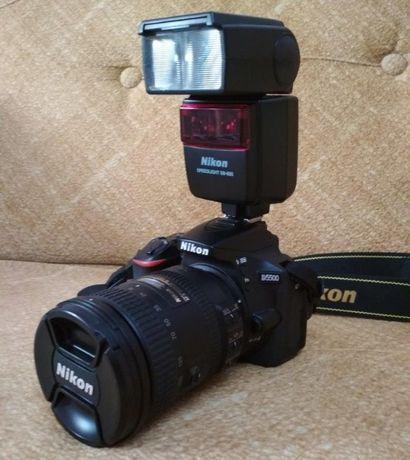 Nikon D5500 + AF-S 18-200 + SB-600