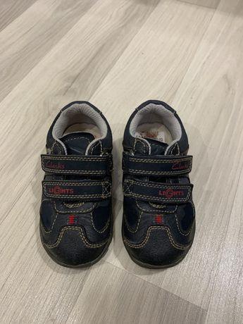 Ботиночки кросовки Clarks 21 размер