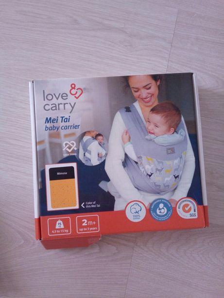 Новый Слинг Love Carry+бандаж для беременных