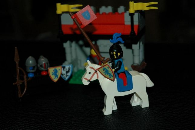 Lego Castle 6041. Armor Shop. 1986 rok.