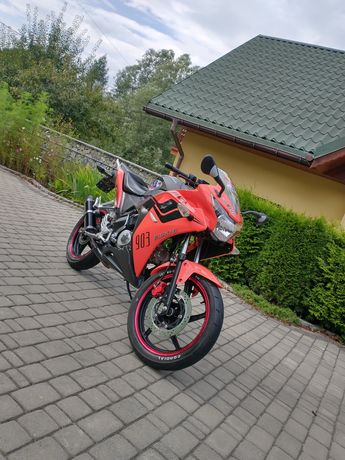 motocykl Junak 903 Race 125/50 (Honda CBR 125)