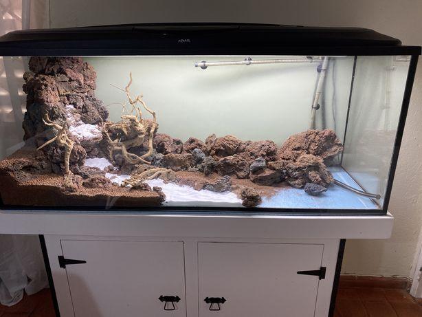 Aquario 1.50m com movel