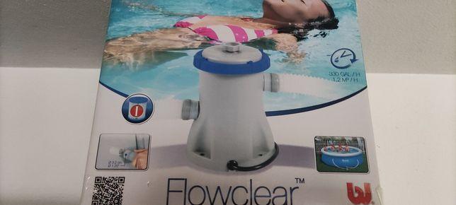 Bomba filtro para piscina