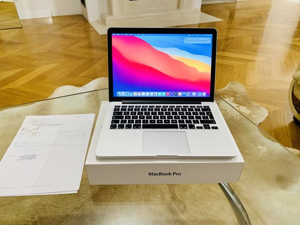 Tanio! MacBook Pro 13' Retina i5 4GB/128GB Nowa Bateria