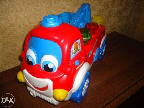 Машинка техпомощи Аугусто Baby Clementoni