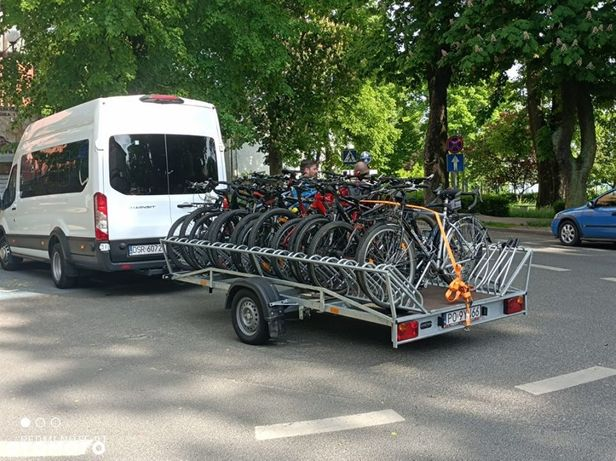A16  Przyczepa do przewozu rowerów 20 szt. DMC 750