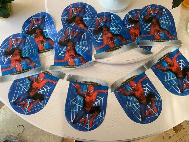 гирлянда, подвеска растяжка spider man 3, день рождения, человек паук