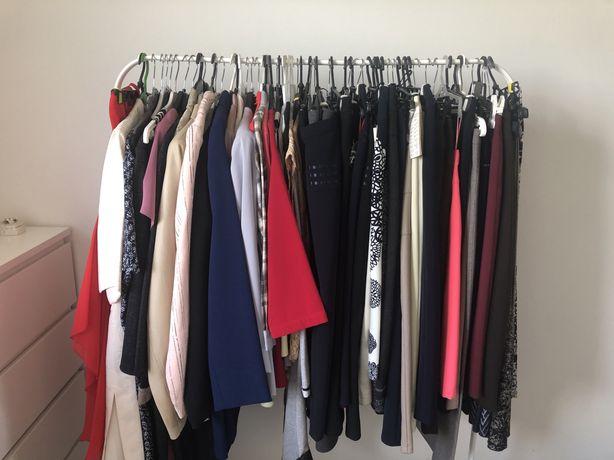 NOWA odzież damska-bluzka, spódnica,kostium,garsonka rozm. 36-58-90%