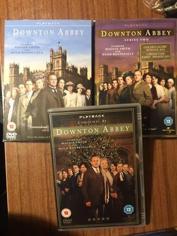 Downtown Abbey temporada 1, 2 + especial Natal