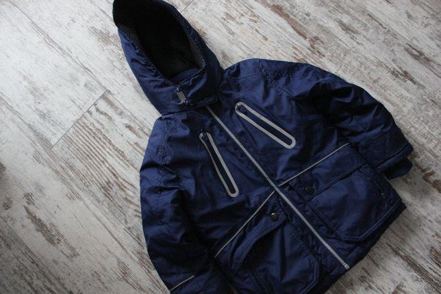 Куртка парка зимняя F&F на мальчика 5-6 лет