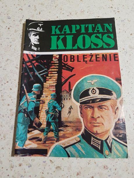 Komiks Kapitan Kloss nr 18 Oblężenie