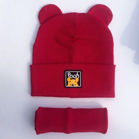 Дитяча шапка + хомут