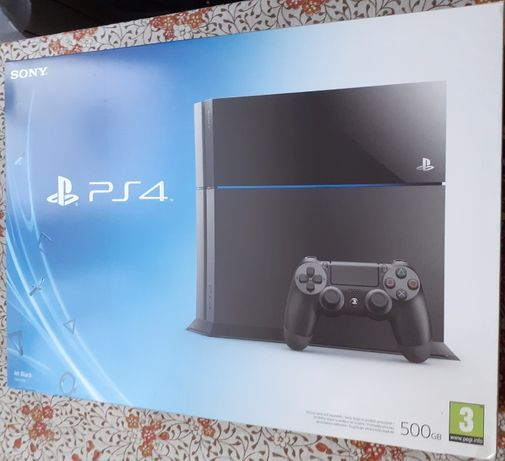 PS4 (Jet Black CUH-1116A) 500 GB