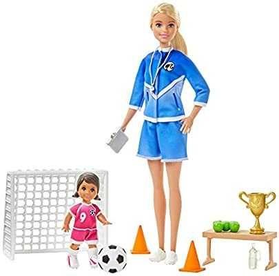 Barbie футболістка