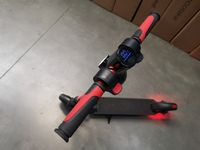 Frugal Comfy + e-hulajnoga , elektryczna hulajnoga czerwona #129