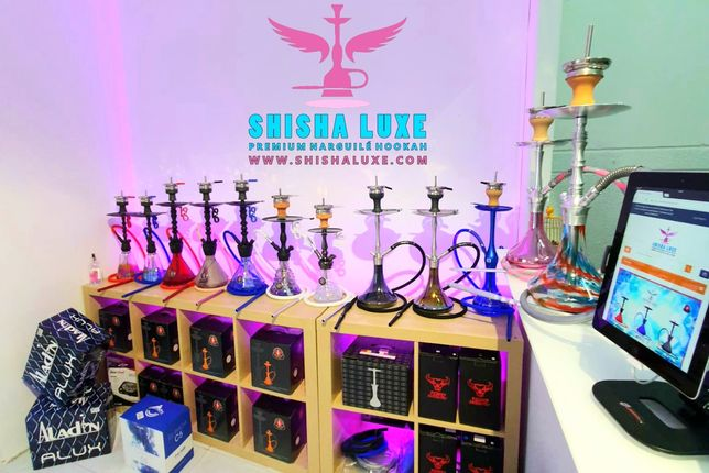Shishas ShishaLuxe loja em Odivelas Venda ao Público e Revenda