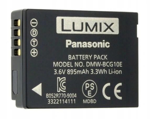 Oryginał Panasonic DMW-BCG10e DMW-BCG10 f-ra VAT