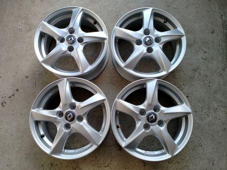Nowe felgi aluminiowe 15 cali 4x100 et 40 Renault Clio Megane Czujniki