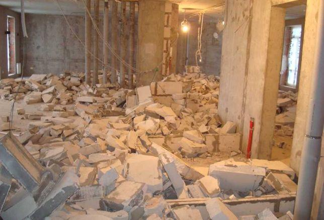 Демонтажные работы резка бетона грузчики разнорабочие вывоз мусора