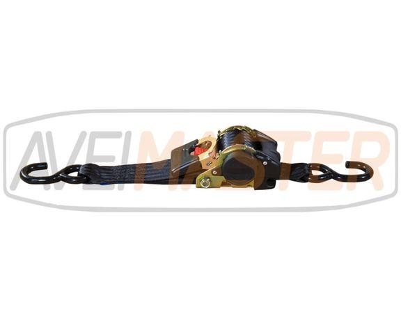 Cinta Retratil Preta Motos 1,5T 50mm x 3 mt. Ref 060057