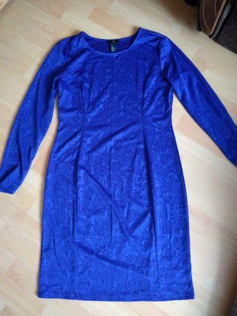 Sukienka H&M L chabrowa