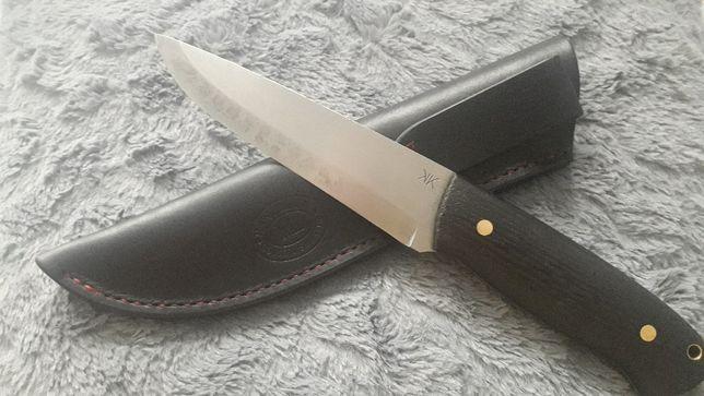 Nóż custom Killrathi Bushcraft long hand made powiększony
