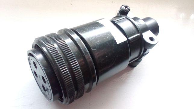 Gniazdo kablowe 4P, Fujikura - CE05-6A18-10SD-B-BSS + CE3057-10A-2-D