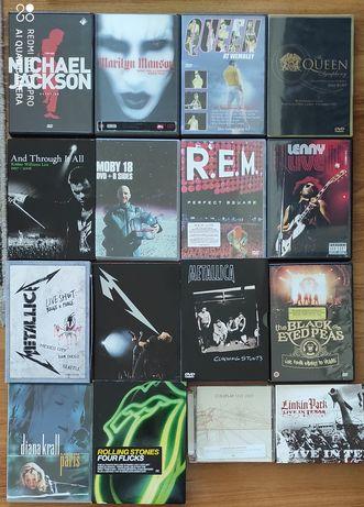 DVDs vários musicais Live