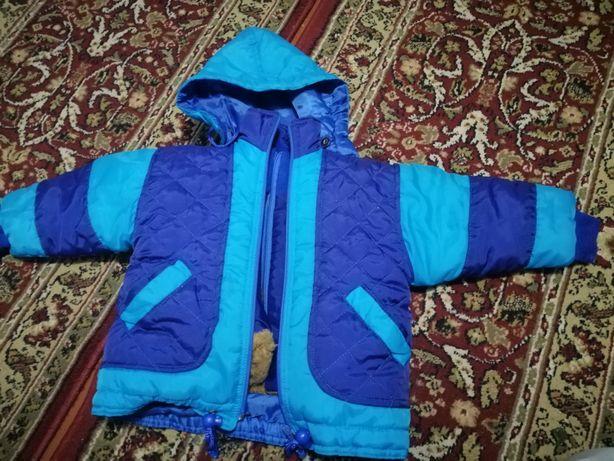 Курточка два в одному осінь зима