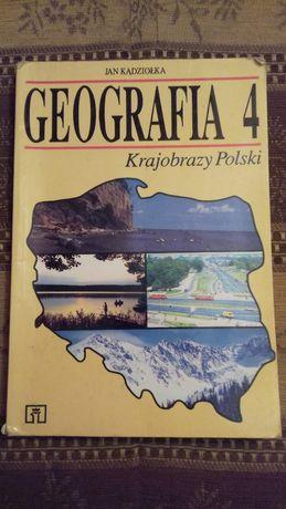Geografia Krajobrazy Polski 4 J. Kądziołka WSiP
