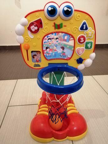 Interaktywna koszykówka Clementoni