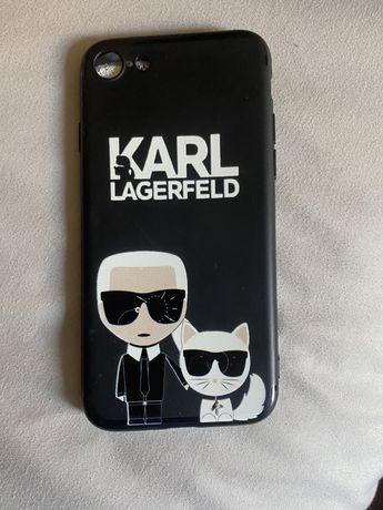 Capa Iphone 7 Karl Lagerfield/LV