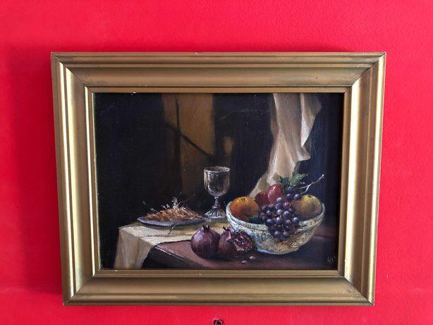 "Картина Н.Червоткина ""Натюрморт"" 1993г. х/м размер 23х28.5см."
