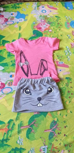 Літнні костюми для дівчинки