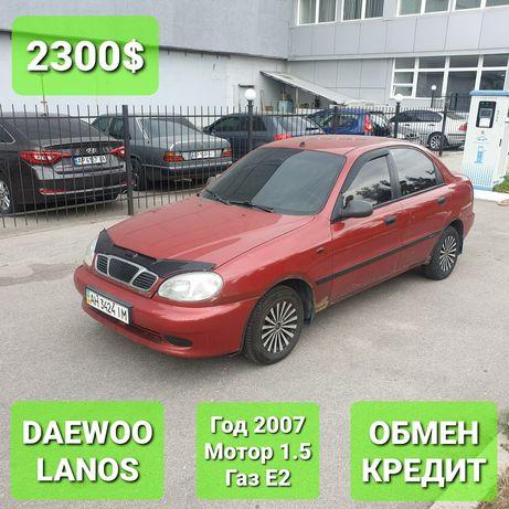Daewoo Lanos | Мотор 1.5 | Год 2007 | Газ: Евро 2 |