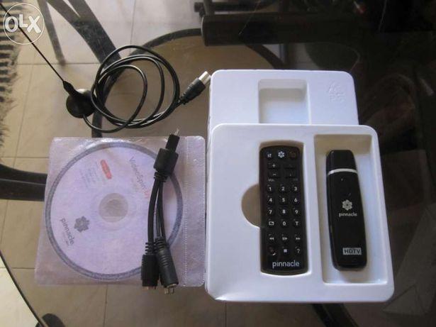 Placa de TV Digital com radio FM e digitaliza de vhs para cd .