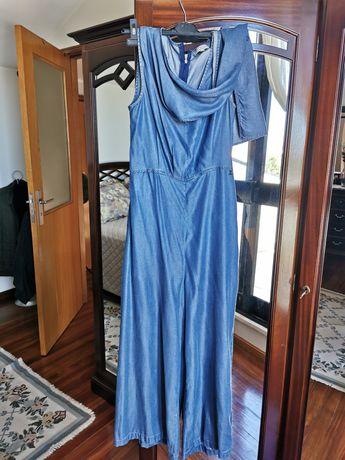 Macacão Azul Cerimónia